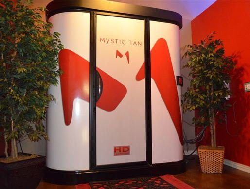 2010 mystic tan hd sunless tanning booth for sale