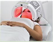 photo of a Lumiere red light therapy machine