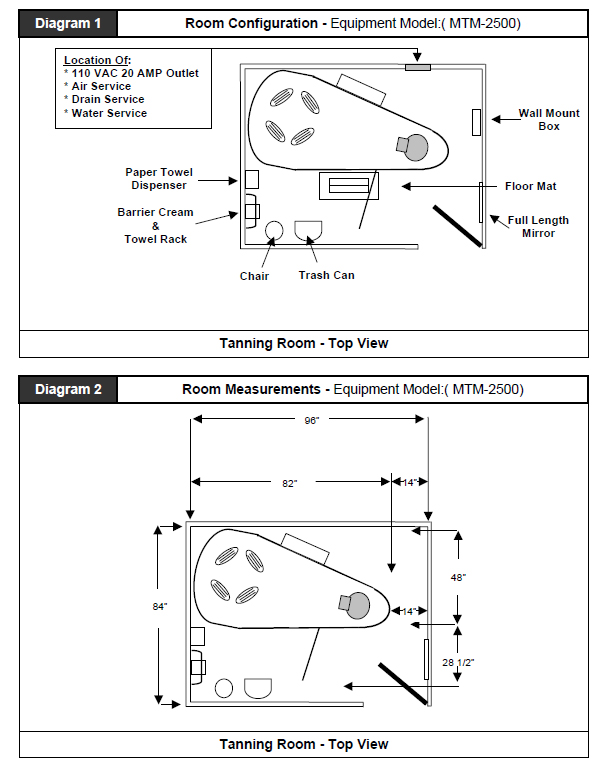 Mystic Tan HD room layout and dimensions