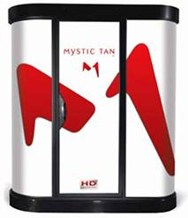 used mystic tan hd spray tanning booth