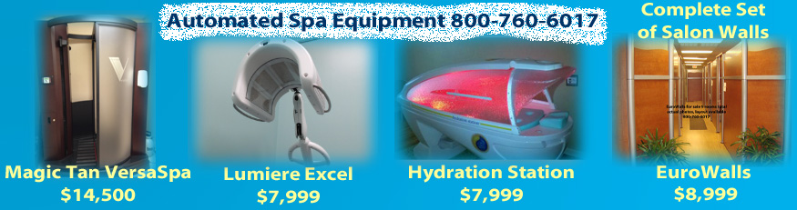 tanning salon equipment for sale